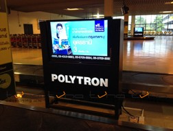 DIGITAL SIGNAGE BANGKOK AIRWAYS