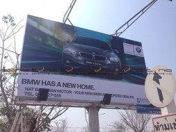 Billboard BMW @Udonthani Airport