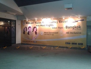 WALL WRAP NOK AIR @Udonthani Airport