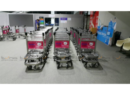 Baggage Trolley Muang Thai Life Insurance @Udonthani Airport