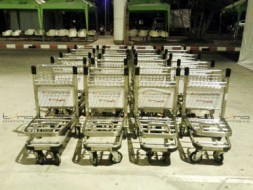 *NEW*BAGGAGE TROLLEY THAI SMILE @Ubonratchathani Airport